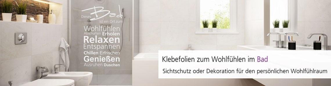 Elegante Klebefolien zur Raumgestaltung im Badezimmer