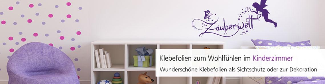 Klebefolien zur Raumgestaltung für Kinder und Jugendliche