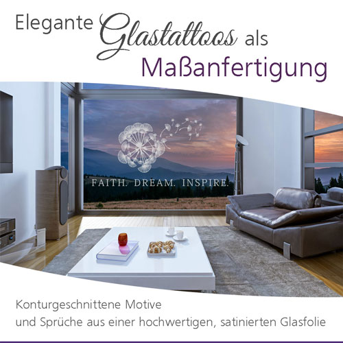 Wandtattoos Glasfolie Autoaufkleber Lifestyle Decor De