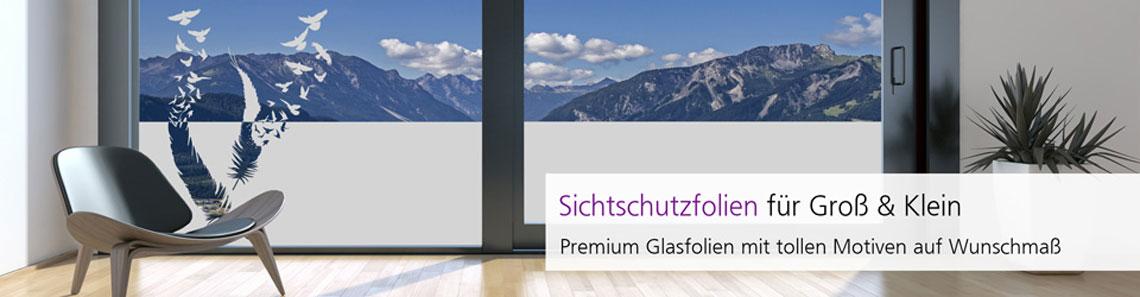 Fensterfolie als Sichtschutz & Sichtschutzfolie auf Maß