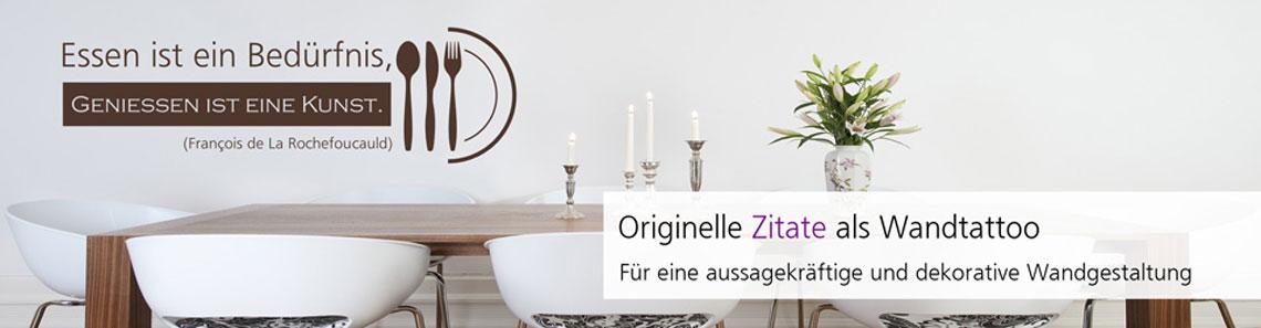Wandtattoo Sprüche und Begriffe von lifestyle-decor.de