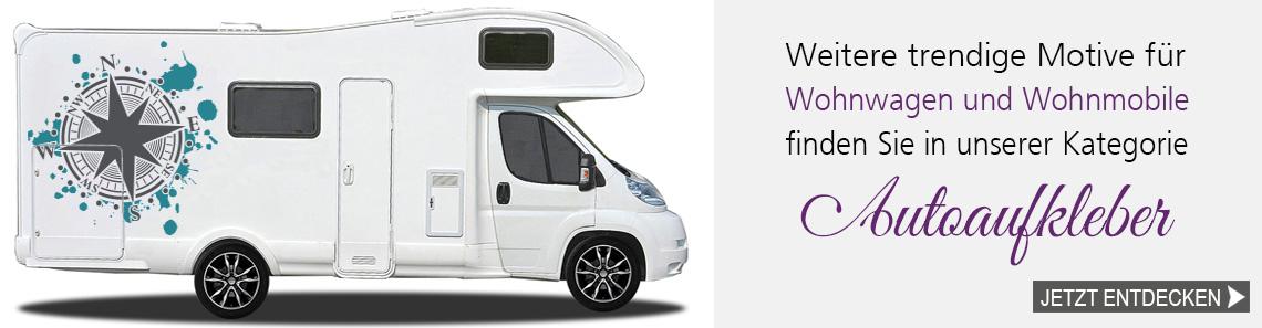 Aufkleber Für Wohnwagen Und Wohnmobile Für Globetrotter
